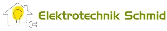 Elektrotechnik-Schmid logo